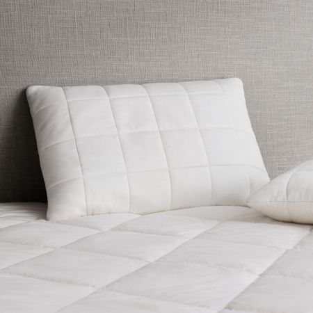Deluxe Supersoft Surround Pillow in white