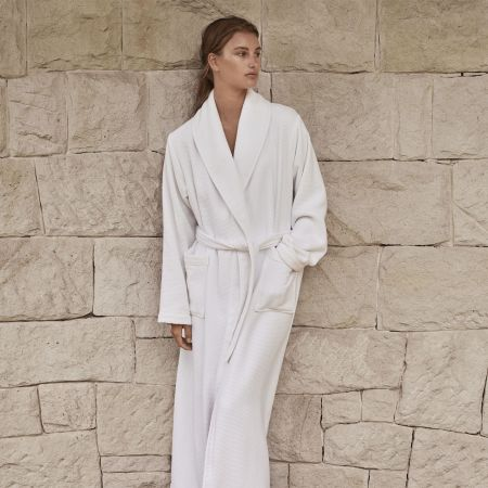 Sheridan Everglades Womens Robe White