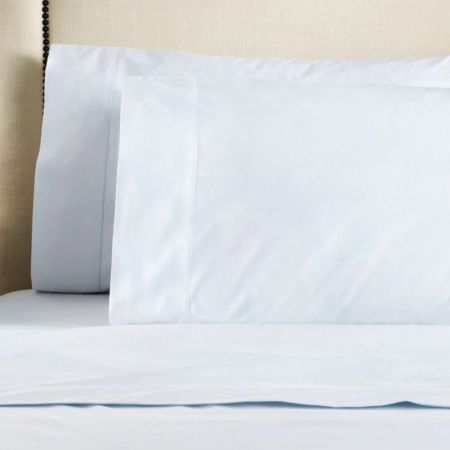 Sheridan 1000tc Hotel Luxury Pillowcase Pair Soft Blue