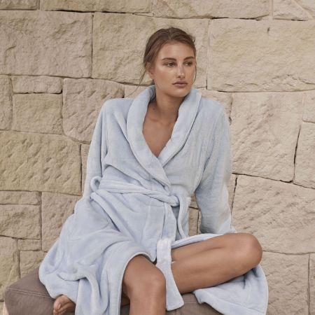 Sheridan Kerrabee Womens Robe Tide