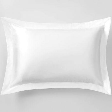Sheridan Lanham Silk Pillowcase Snow