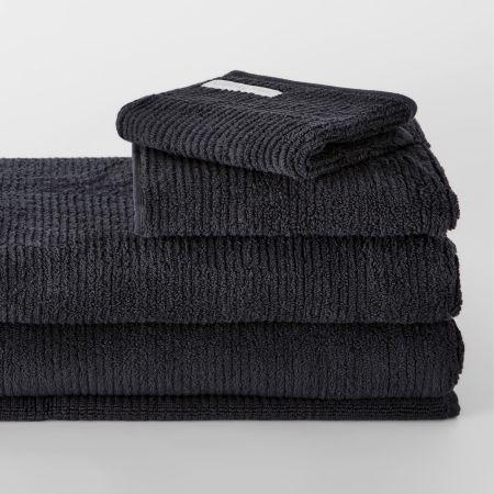 Sheridan Living Textures Towel Collection Carbon