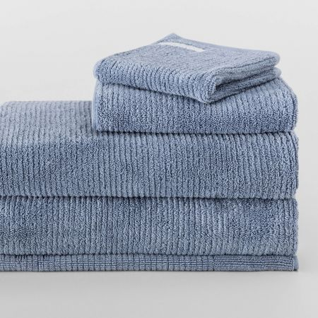 Sheridan Living Textures Towel Collection Orient Blue