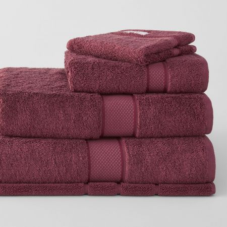 Sheridan Luxury Egyptian Towel Collection Merlot