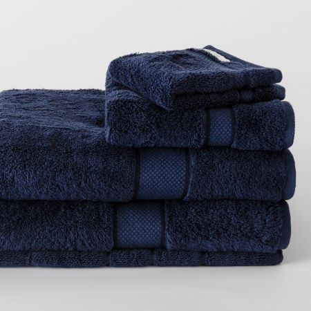 Sheridan Luxury Egyptian Towel Collection Royal Navy