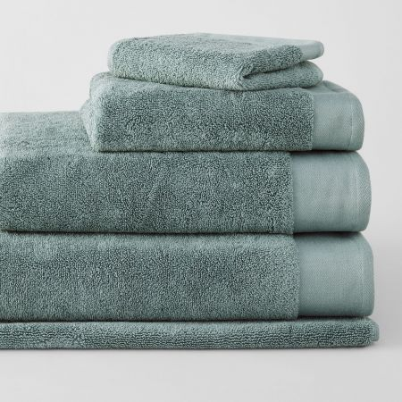 Sheridan Luxury Retreat Towel Collection Sea Green