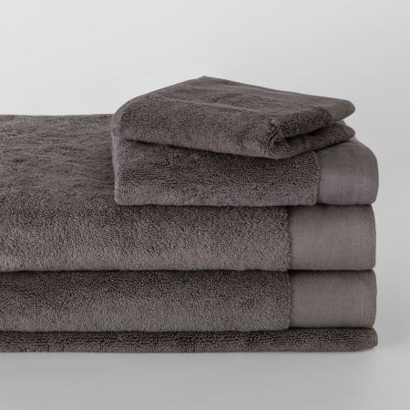 Sheridan Luxury Retreat Towel Collection Smoke