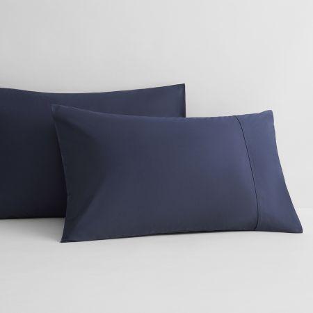 Sheridan 400tc Cotton Sateen Pillowcase Pair Midnight