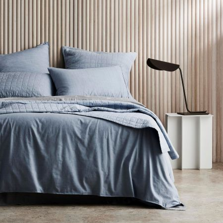 Sheridan Reilly Quilt Cover Set Chambray
