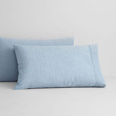 Sheridan Reilly Pillowcase Pair Chambray