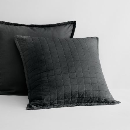 Sheridan Reilly Pillow Sham Carbon
