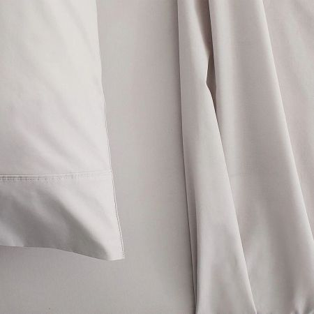Sheridan Organic Cotton 300TC Percale Sheet Set dove