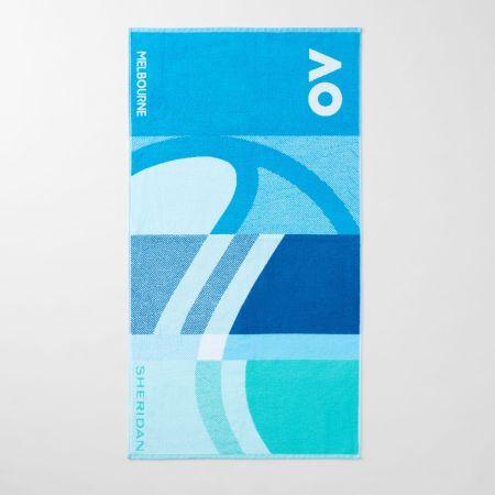 Australian Open 2021 Player Towel Pacific Blue