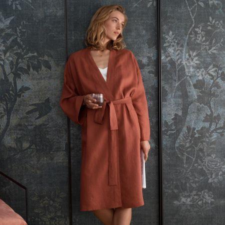 Abbotson Linen Robe
