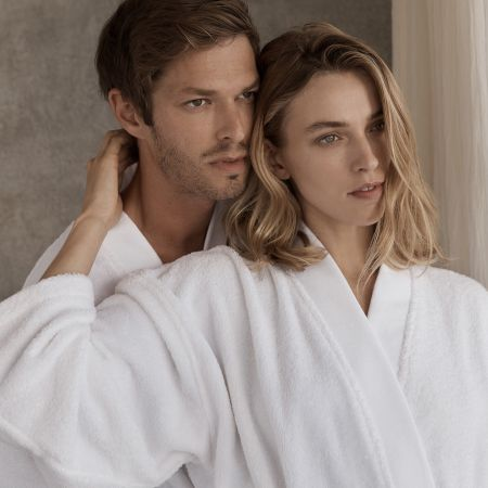 Sheridan Supersoft Luxury Towelling Robe Surf