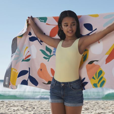 Fruit Salad Kids Beach Towel in Multi