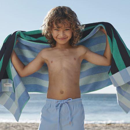 Nautico Kids Beach Towel in Midnight