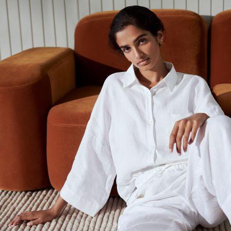 Abbotson Linen Womens Shirt