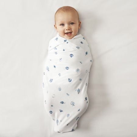 Henlet Baby Wrap in Chambray
