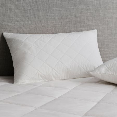 Sheridan Ultracool® Cotton Quilted Pillow Protector Snow