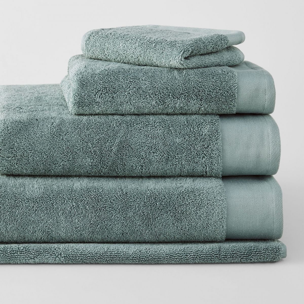 Luxury Retreat Towel Collection Sea Green Sheridan Australia