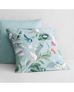 Corbetta European Pillowcase in mint frost