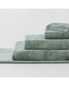 Supersoft Luxury Towel Collection in slate green